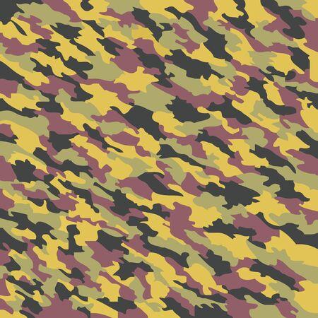 camouflage texture, abstract art illustration Stock Illustration - 7336168