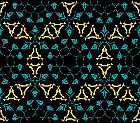 geometric seamless texture, abstract pattern,   art illustration Stock Illustration - 7336801