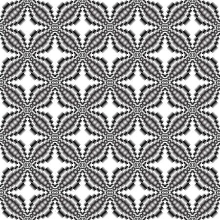metallic flowers seamless texture, abstract art illustration