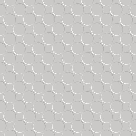 metallic seamless circle pattern, abstract texture,  art illustration Stock Illustration - 7335469