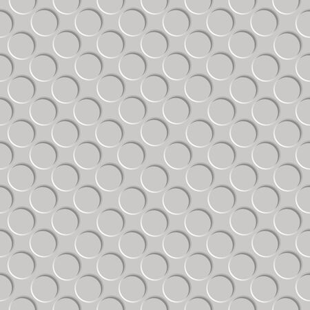 metallic shadowed circle pattern, abstract seamless texture,  art illustration Stock Illustration - 7335765