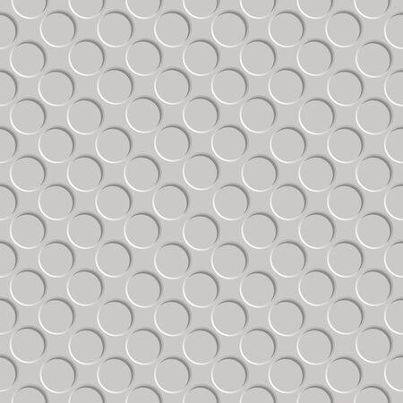 metallic shadowed circle pattern, abstract seamless texture,  art illustration illustration