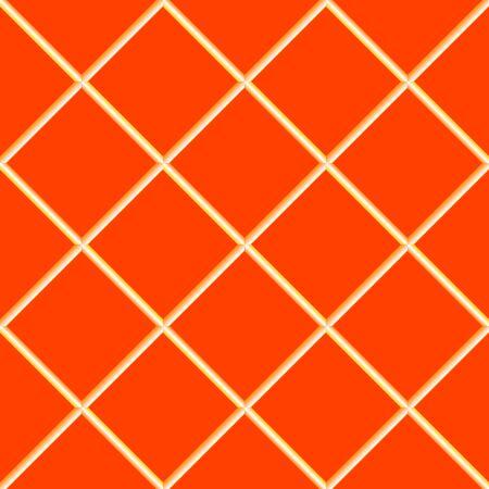 orange seamless ceramic tiles, abstract texture,  art illustration illustration