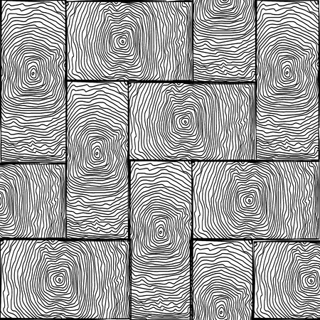 flooring design: parchet small texture black and white,   art illustration. You can find more textures in my gallery. Stock Photo