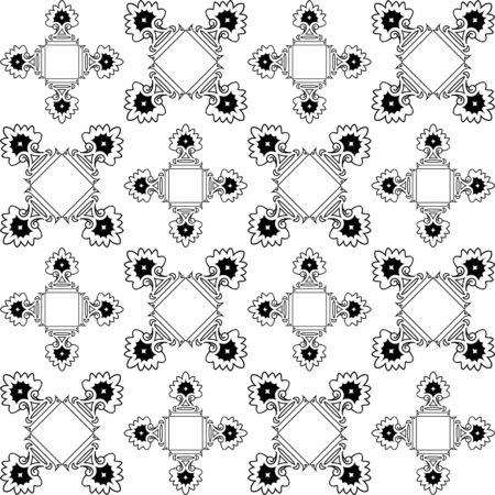 dichromatic: repetitive monochromatic texture, abstract pattern, art illustration