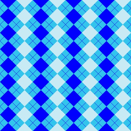 argyle: sweater texture mixed blue colors, vector art illustration; more textures in my gallery