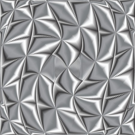twisted metallic texture,   art illustration Stock Illustration - 7336885