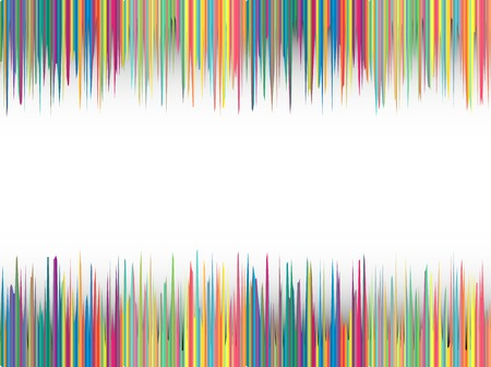 カラフルなストライプの背景、抽象的なベクトル アート イラスト