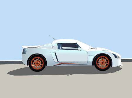 sport car  illustration, abstract   art Vector