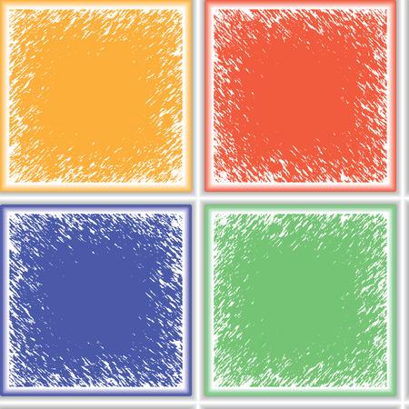 grunge ceramic seamless texture, abstract pattern, art illustration Banco de Imagens - 7824278