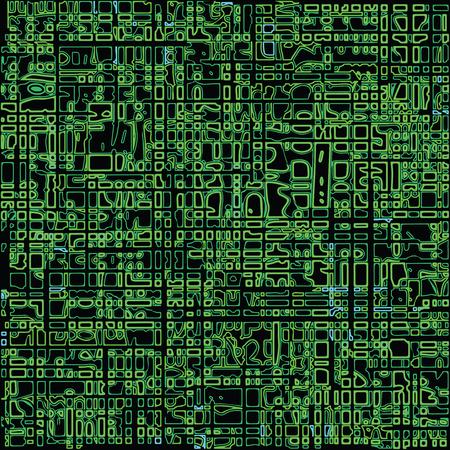 green seamless texture, abstract pattern; vector art illustration Stock Vector - 8012685