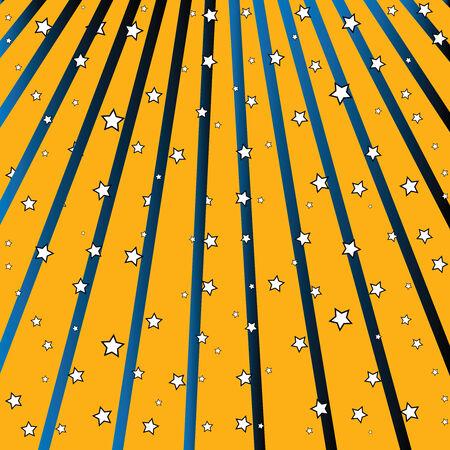 stars fall, abstract art illustration Stock Vector - 8133072