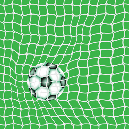 goal ball, abstract vector art illustration 向量圖像