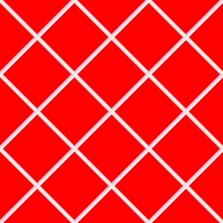 red seamless ceramic tiles, abstract texture; vector art illustration illustration