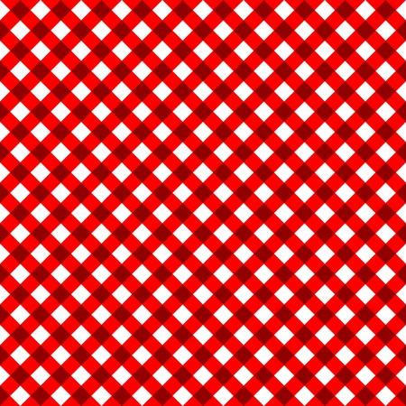 gridlock: red seamless mesh, vector art illustration