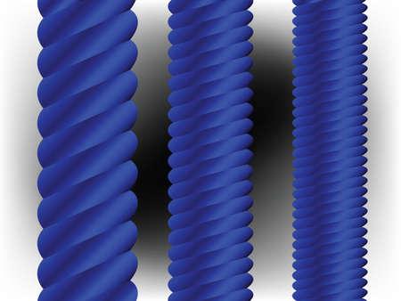 blue vertical columns, abstract vector art illustration illustration