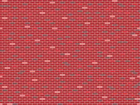 bricks wall seamless texture, abstract pattern; vector art illustration Stock Illustration - 8546051