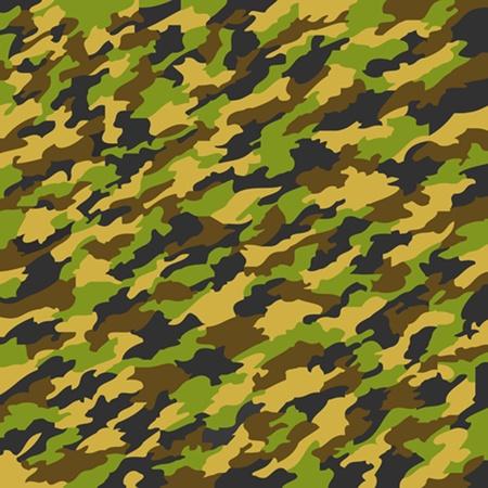 camouflage texture, abstract art illustration Stock Illustration - 8545853