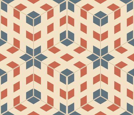 pop art seamless texture, abstract pattern; vector art illustration Stock Illustration - 8545352