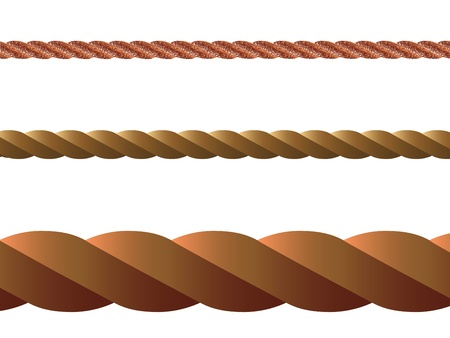 rope vector against white background, abstract art illustration illustration