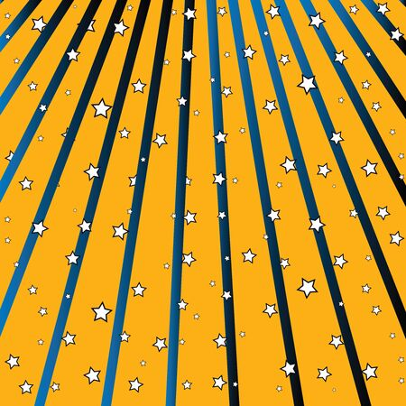 stars fall, abstract vector art illustration Stock Illustration - 8545194