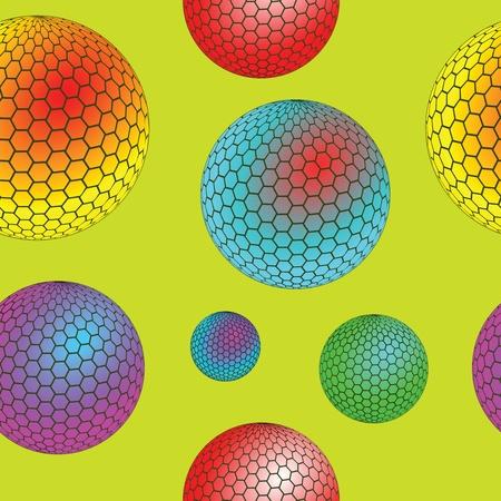 bubbles seamless texture, abstract pattern, art illustration illustration