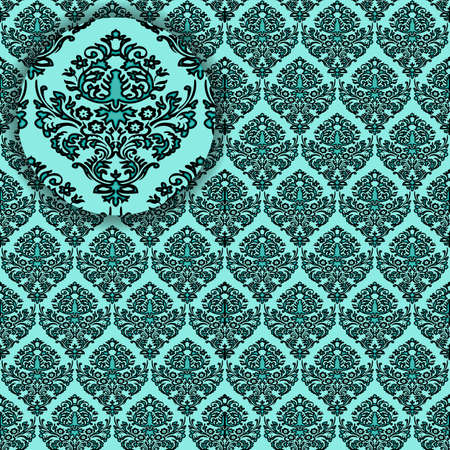 damask detailed seamless texture photo