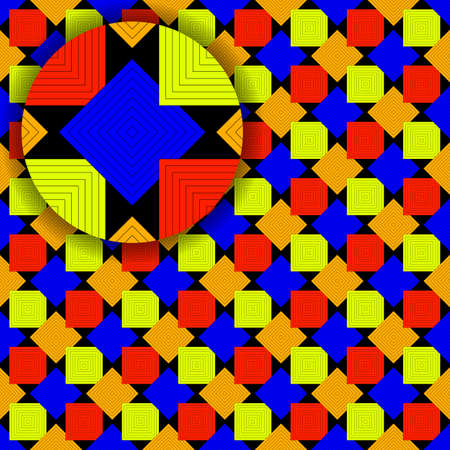 squares pattern with detail Stock Photo - 9353787