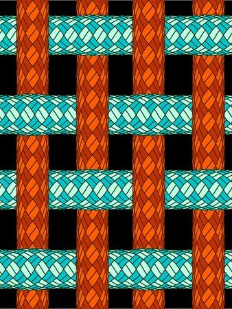 ropes seamless texture, abstract pattern, art illustration 일러스트