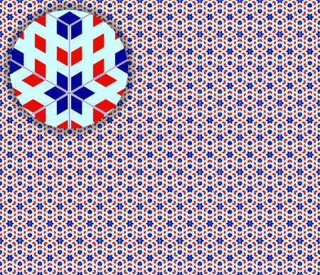 generative: pop art seamless detailed texture, abstract pattern; vector art illustration Stock Photo