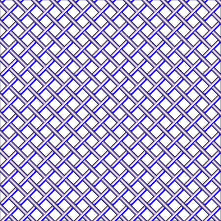 steel seamless mesh pattern, abstract texture; vector art illustration Stock Illustration - 9626360