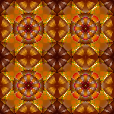 flowers seamless geometric pattern, abstract texture