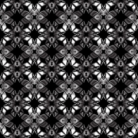 seamless grayscale texture, abstract pattern; vector art illustration