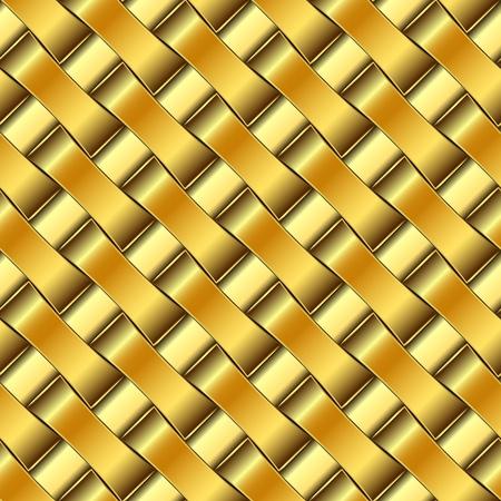 platinum background: golden pattern, abstract seamless texture; vector art illustration Illustration