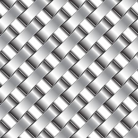 silver pattern, abstract seamless texture; vector art illustration