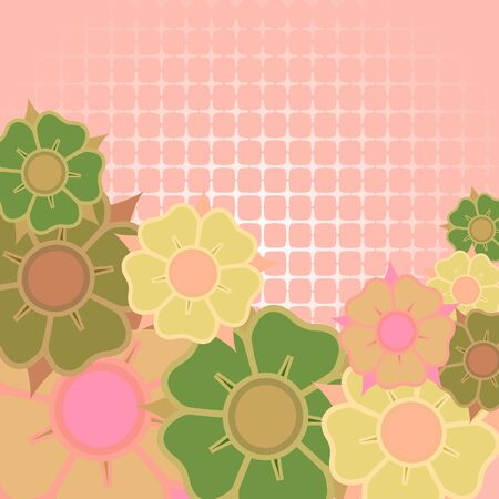 flowers card design.