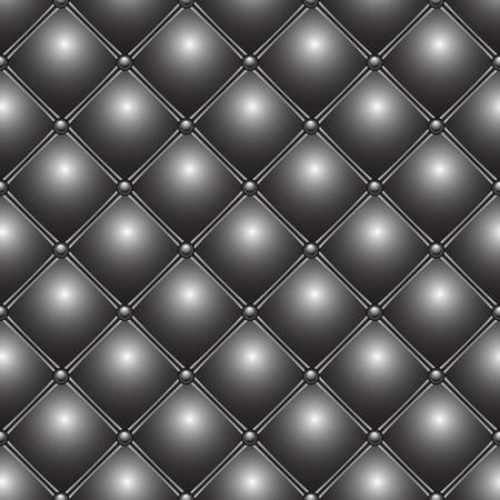 buttoned metallic pattern, abstract seamless texture; vector art illustration illustration