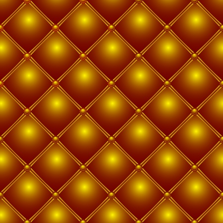 golden metallic pattern, abstract seamless texture; vector art illustration Vector