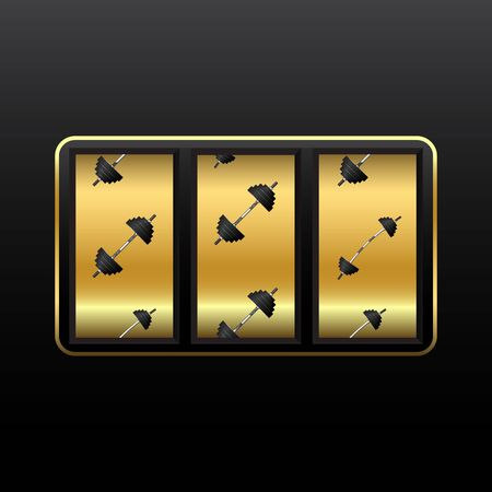 weights slot machine Vector