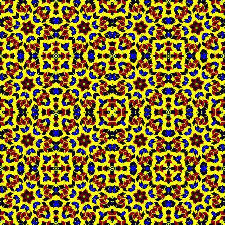 pop art seamless texture, abstract pattern, art illustration Stock Vector - 14656179