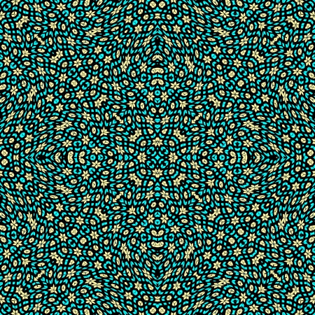 virtual sculpture: pop art texture, abstract seamless pattern; vector art illustration