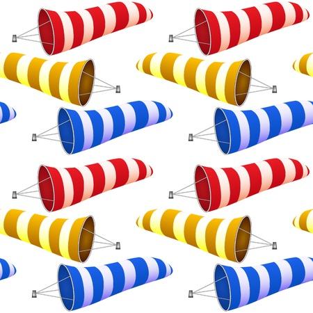 windsock pattern, abstract seamless texture, art illustration