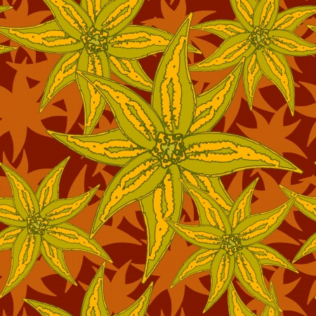 substrate: de fondo sin fisuras flor brillante, textura abstracta, ilustraci�n de arte vectorial Vectores