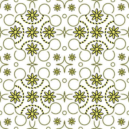 geometric stripy pattern, abstract seamless texture, vector art illustration Illusztráció