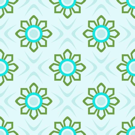 decorative mosaic pattern, abstract tecture, vector art illustration Illusztráció