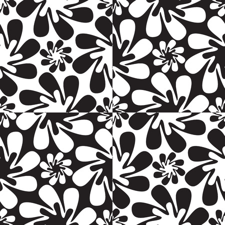 abstract flowers pattern abstract texture 向量圖像