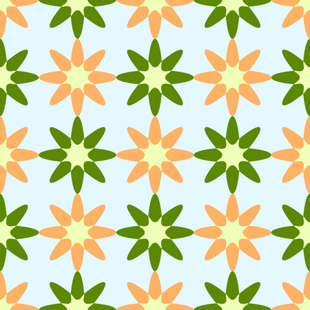 flowers geometric pattern abstract seamless texture Vectores