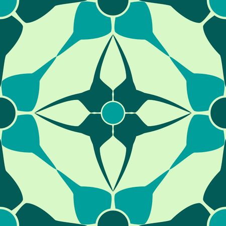 accurate geometric blue pattern, abstract seamless texture, vector art illustration