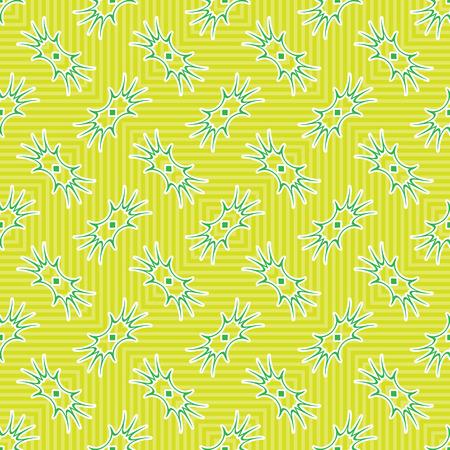 ameba: ameba verde textura, patrón abstracto sin fisuras, ilustración de arte vectorial