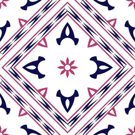 yukata: yukata geometric pattern, abstract seamless texture, vector art illustration Illustration